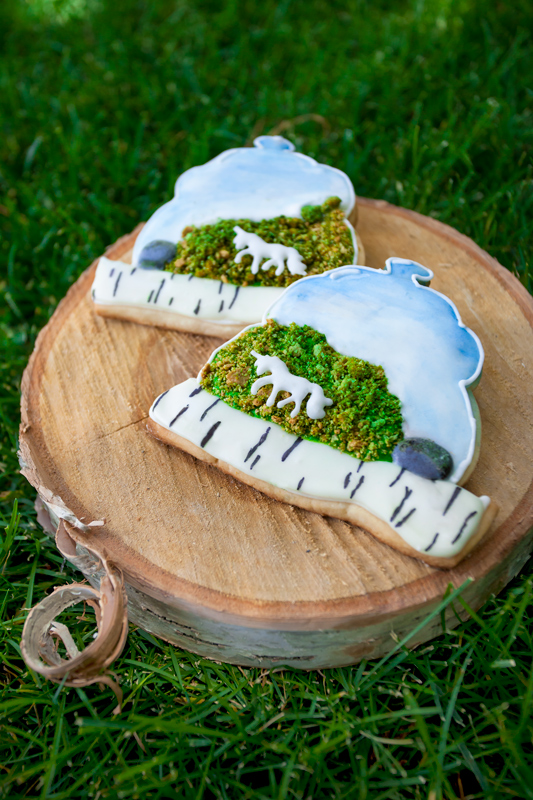 © Unicorn Terrarium Cookies