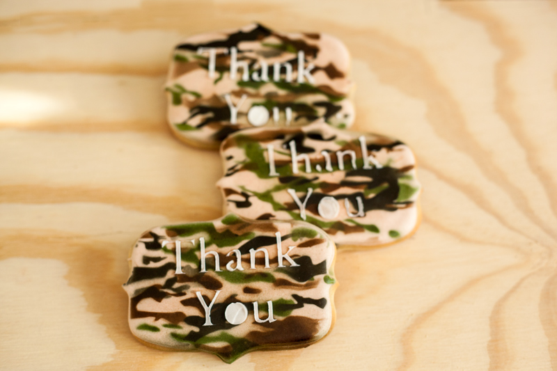© Thank You -Veterans Day Cookies