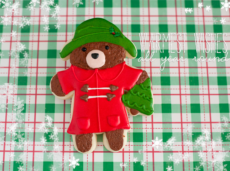 © Christmas Paddington Cookie