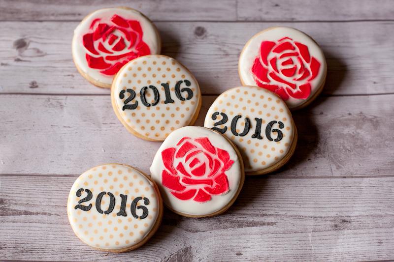 © 2016 Rose cookies