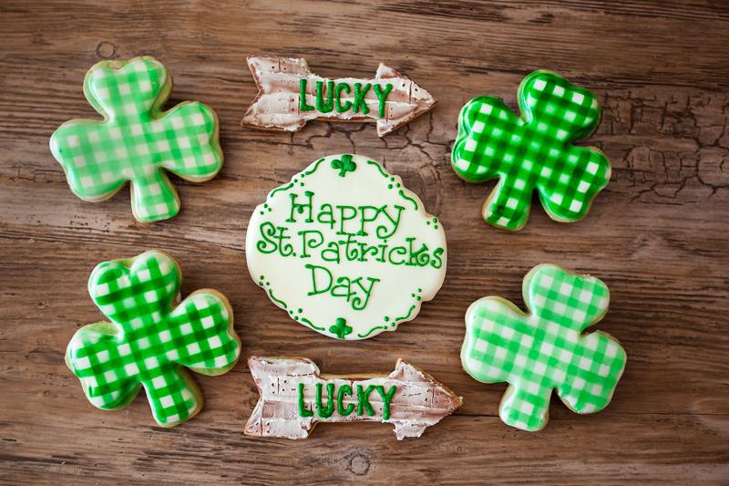 © Happy St. Patrick's Day Cookies
