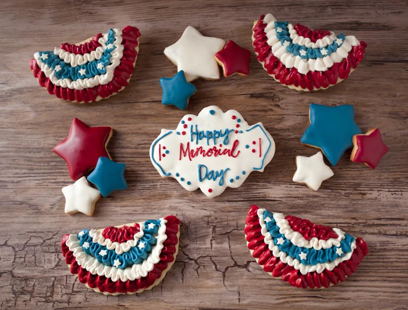 © Happy Memorial Day Cookies