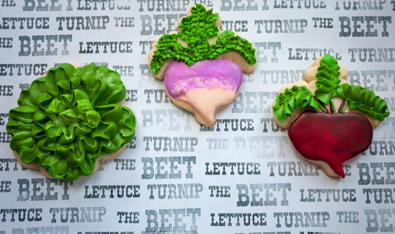 © Lettuce Turnip the Beet Cookies
