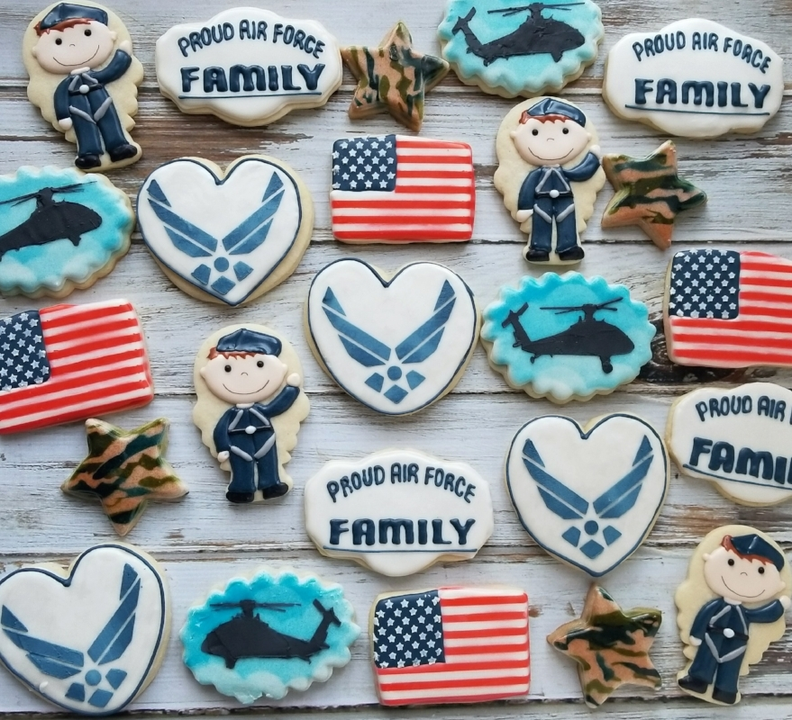 © Veterans Day Cookies