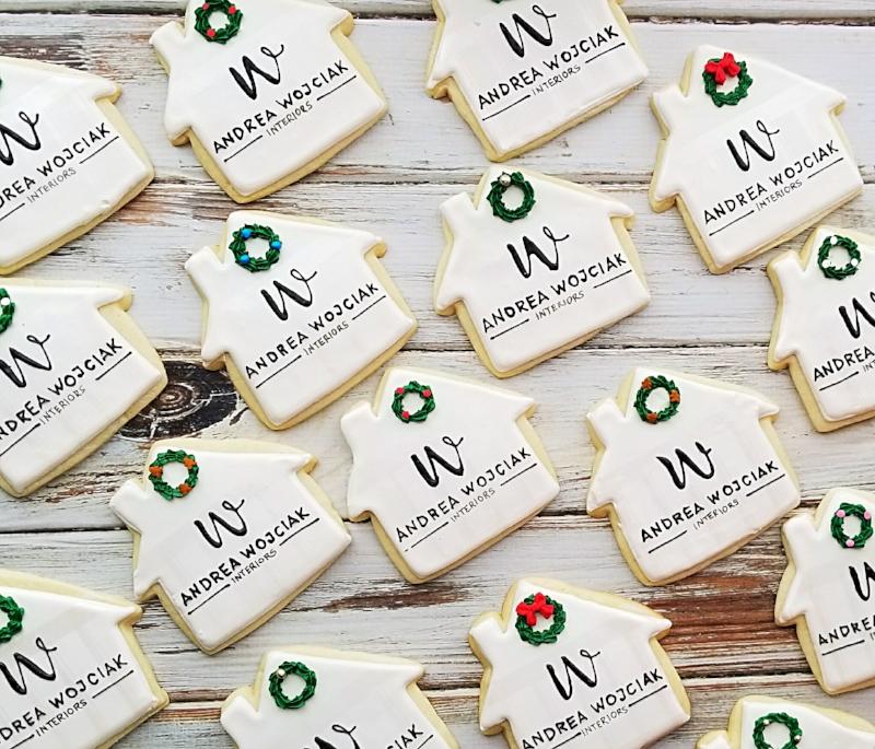 Christmas House Cookies