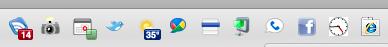 Google Chromium Toolbar