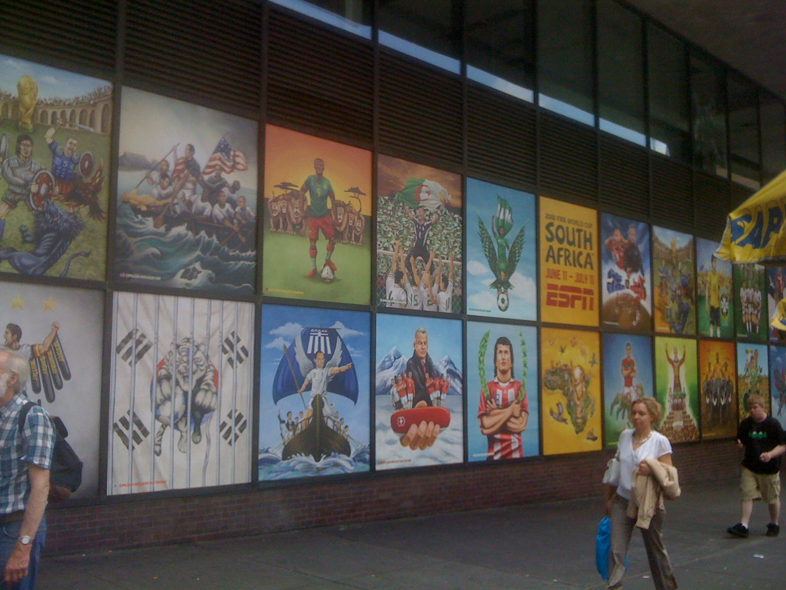 World Cup Posters - Port Authority Bus Terminal