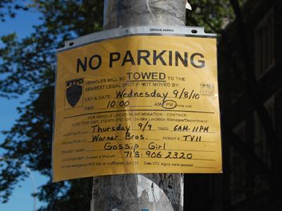 Filming, New York - Gossip Girl