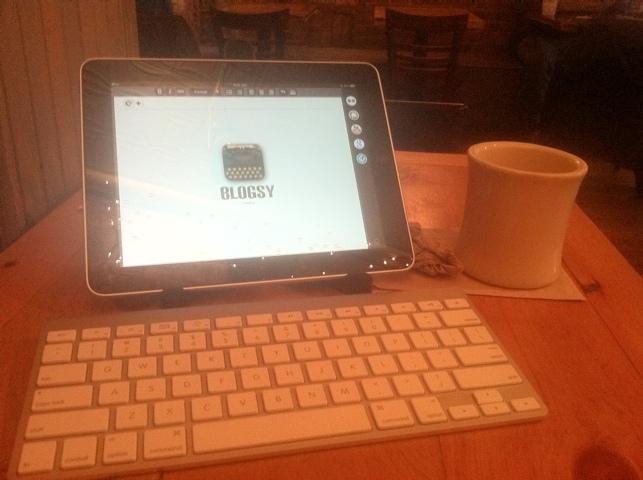 Blogsy App for the iPad