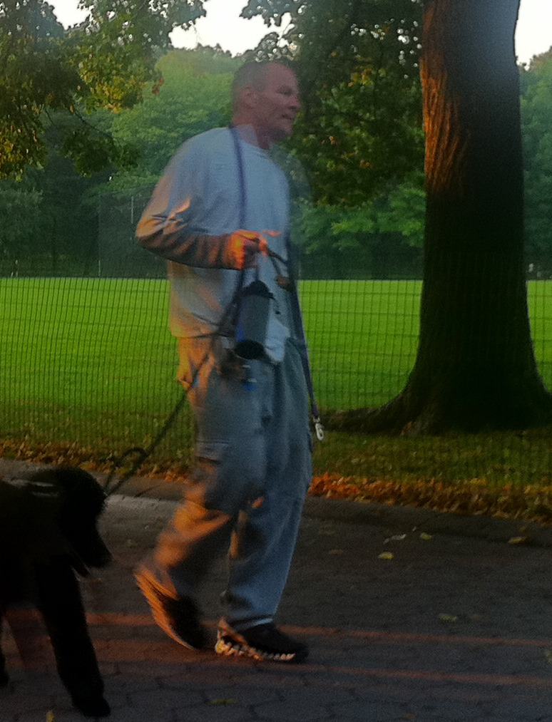 The Dog Walker Who Doesn't Care About You