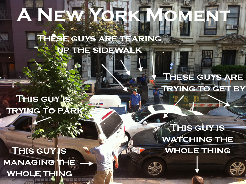 A New York Moment