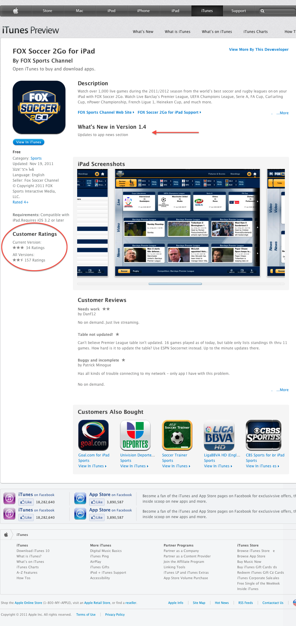 FOX Soccer 2Go for iPad for iPad on the iTunes App Store
