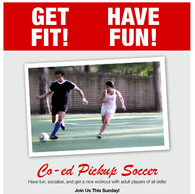 Get Fit & Have Fun with NYC Pickup!