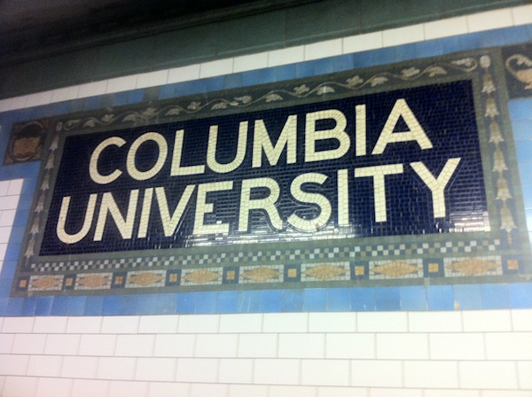 Columbia University Subway Stop
