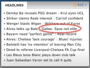Spus Or Spurs, Headline