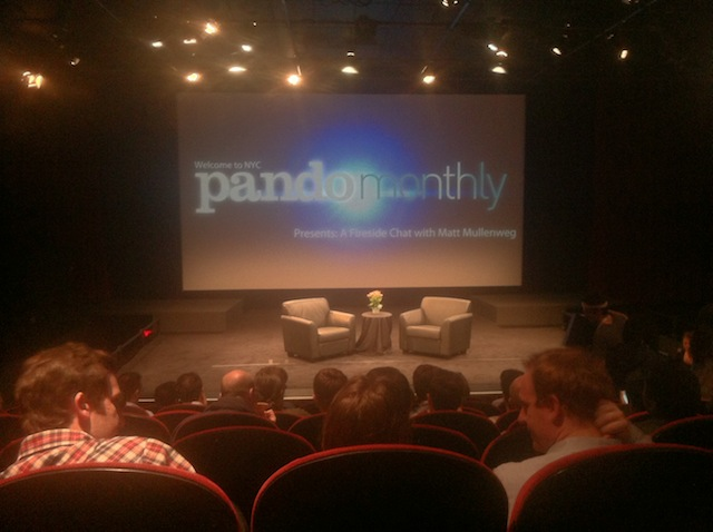 Fireside Chat with Matt Mullenweg and Sarah Lacy at Pando Monthly