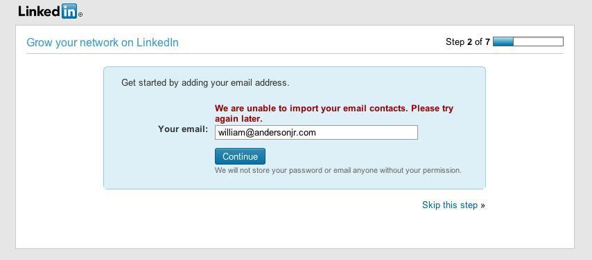 LinkedIn Is Tricky