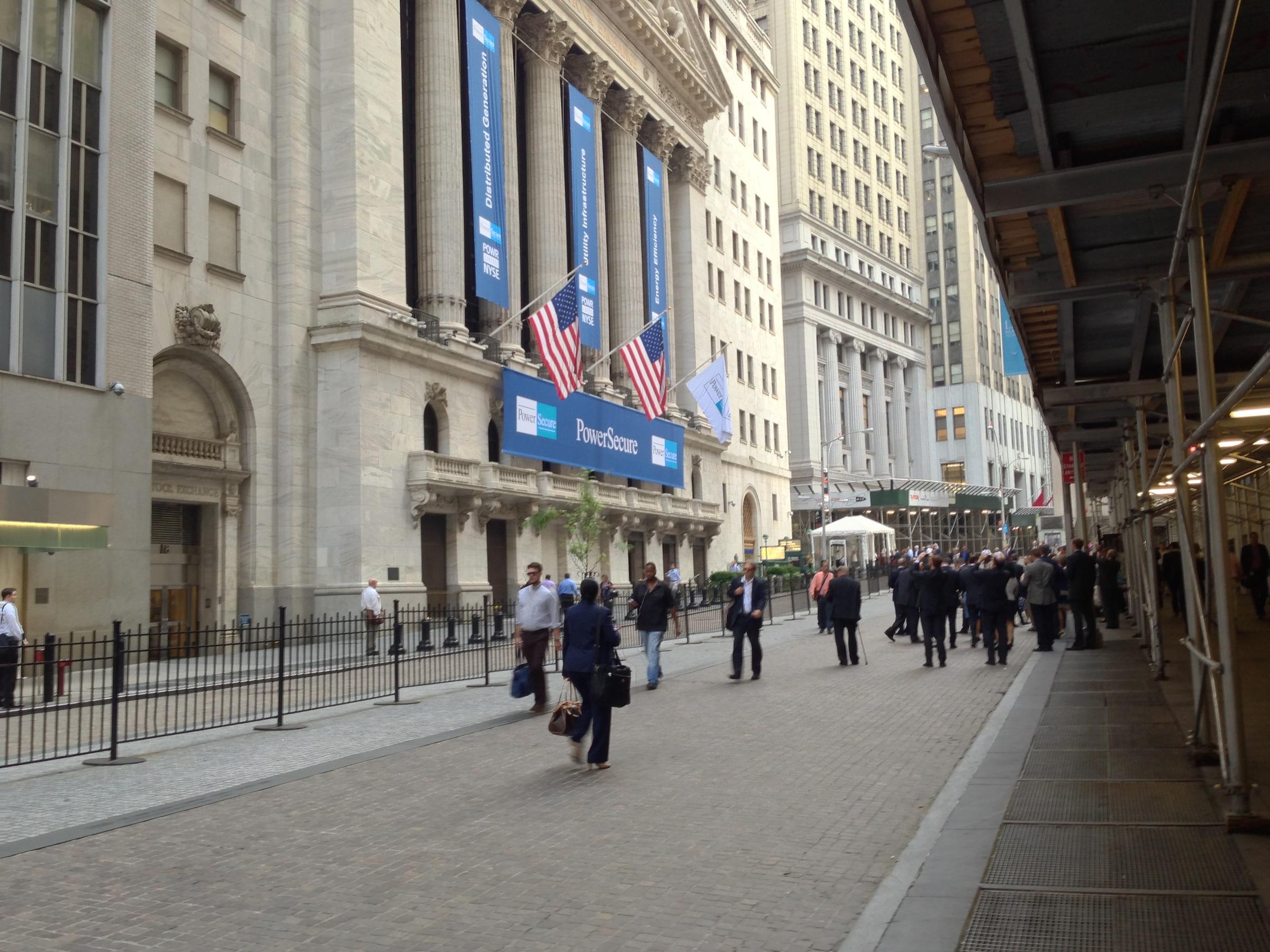 Power Secure Wall Street