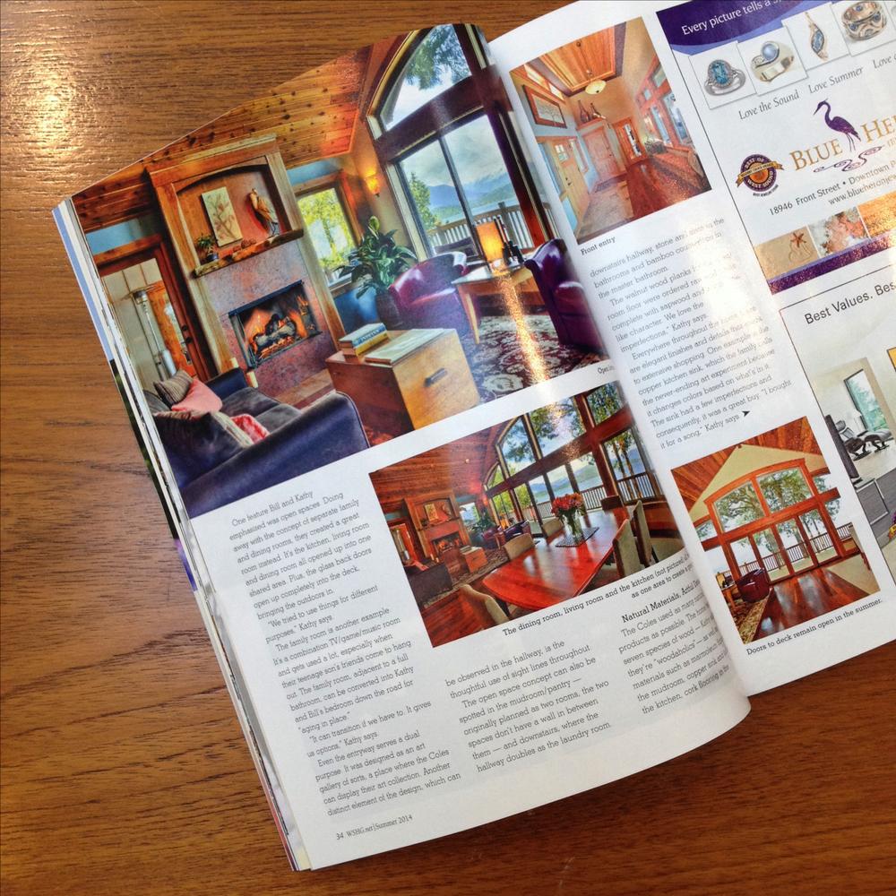 Westsound Home & Garden Magazine, page 34