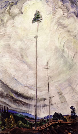 """Scorned as Timber, Beloved of the Sky""  Emily Carr, 1935 Oil on canvas, Vancouver Art Gallery"