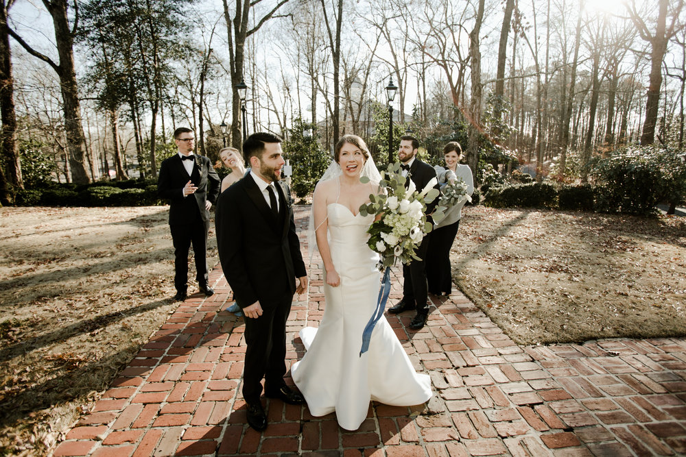 If you're not having fun, is it even your wedding day? -
