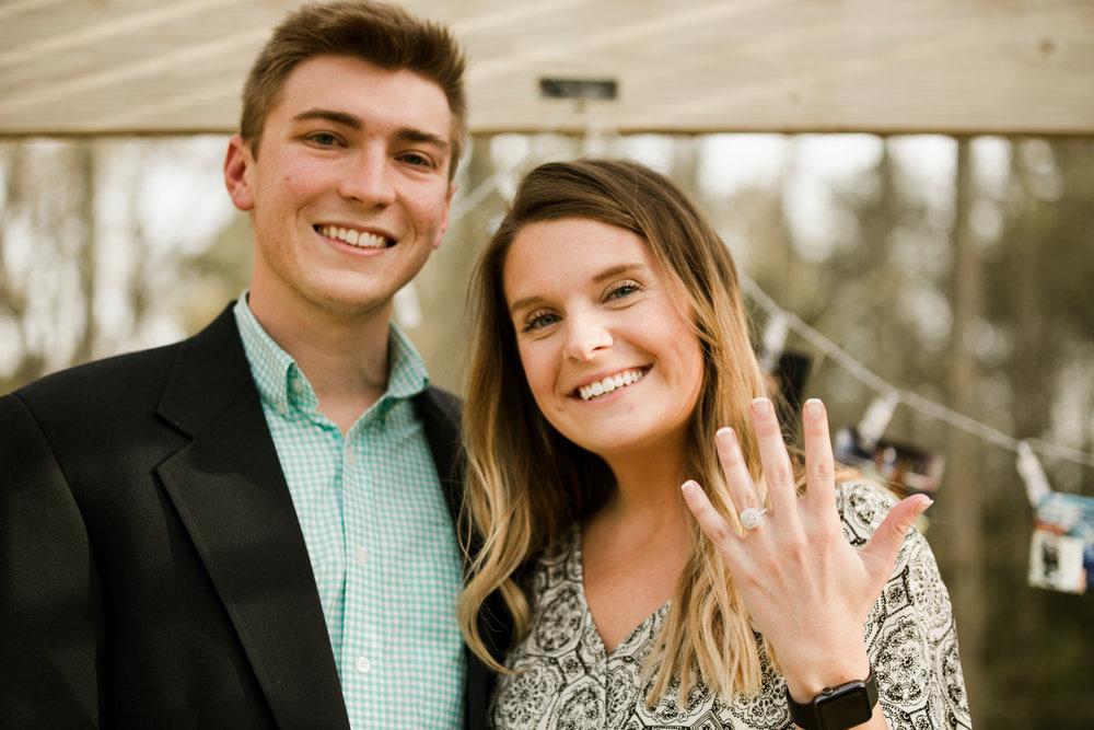 She said yes! -