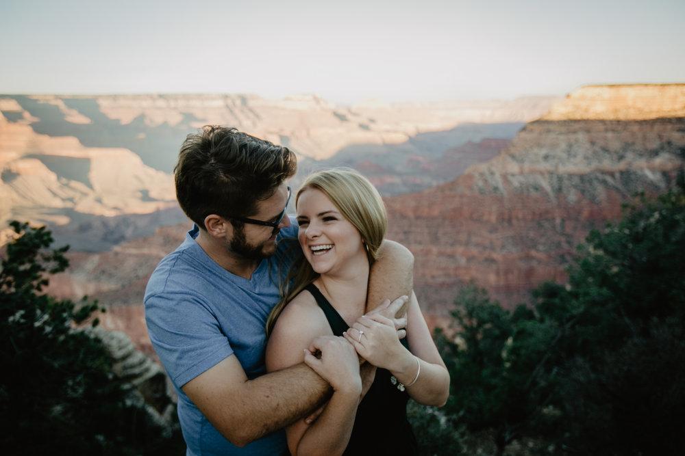 Grand Canyon Proposal Photographer