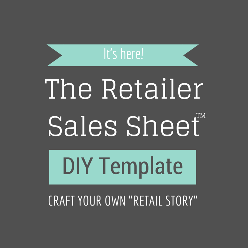 Retailer Sales Sheet Template — Select Your Template - Retail Path ...