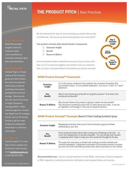Retailer Pitch Deck Template Buy Retail Path Smart Growth - Fresh speaker sheet template concept