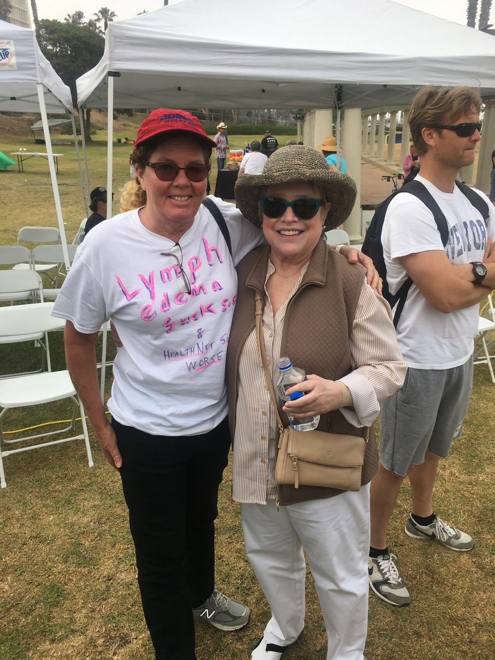 I got to meet actress Kathy Bates at the 2nd annual Run/Walk to fight Lymphedema and Lymphatic Diseases June 26, 2016. Our team, Dr. Jay W. Granzow, raised $3,500 and the event raised over $48,000.