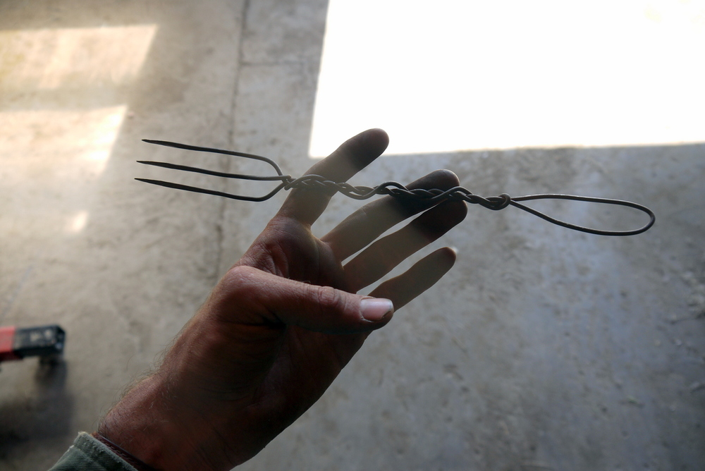 a wire fork