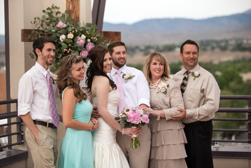 Lee and Tami with their Married Kids - May 2015