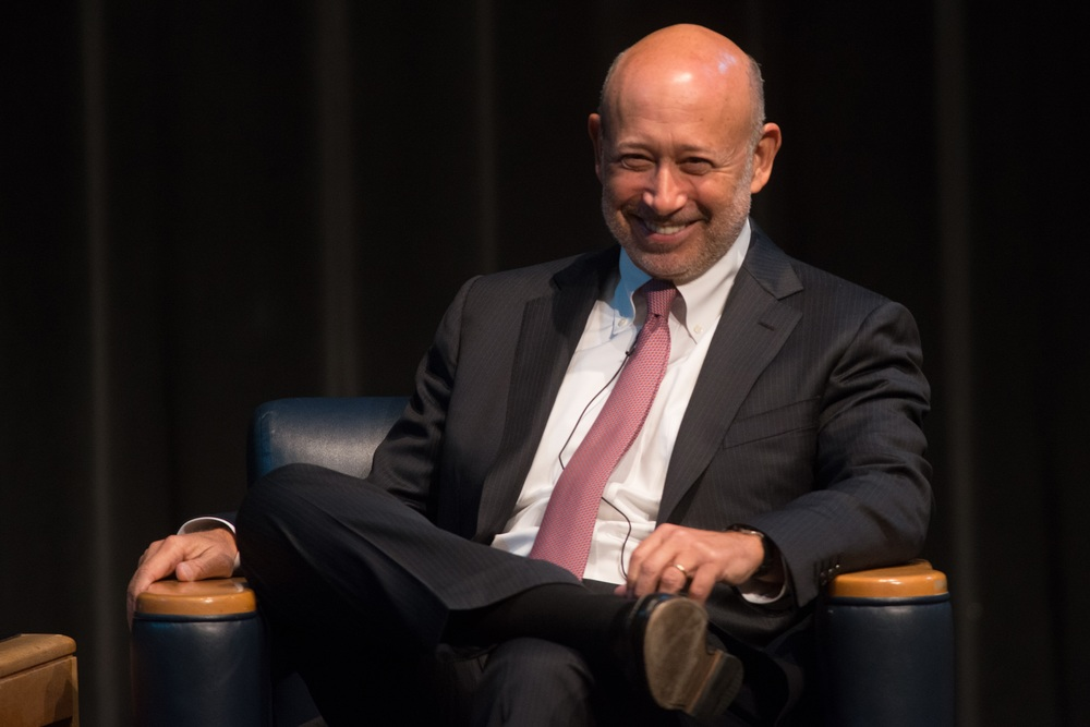 Mr. Lloyd Blankfein, CEO of Goldman Sachs
