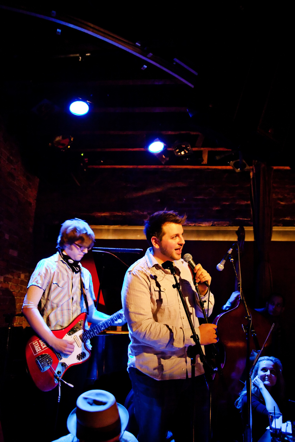 With Aaron Lee Tasjan, Rockwood Music Hall, NYC