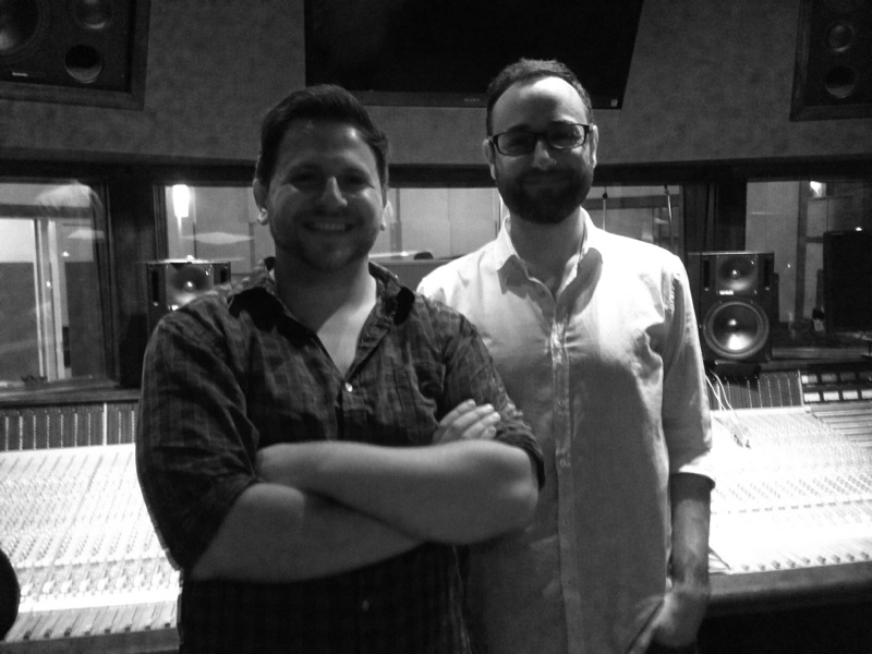 With Chris Abell at Dubway Studios, NYC