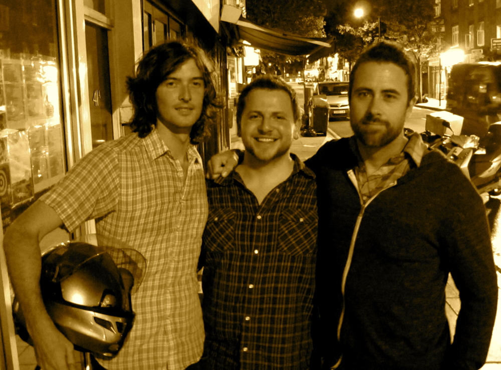With Joey Ryan (Milk Carton Kids) and Jay Nash, Camden, London, UK