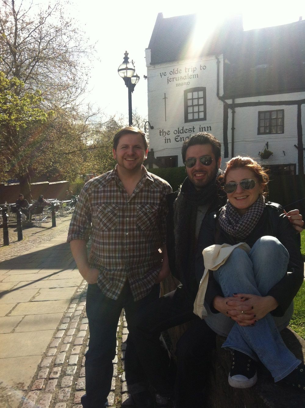 With Ari Hest and Chrissi Poland, Nottingham, UK