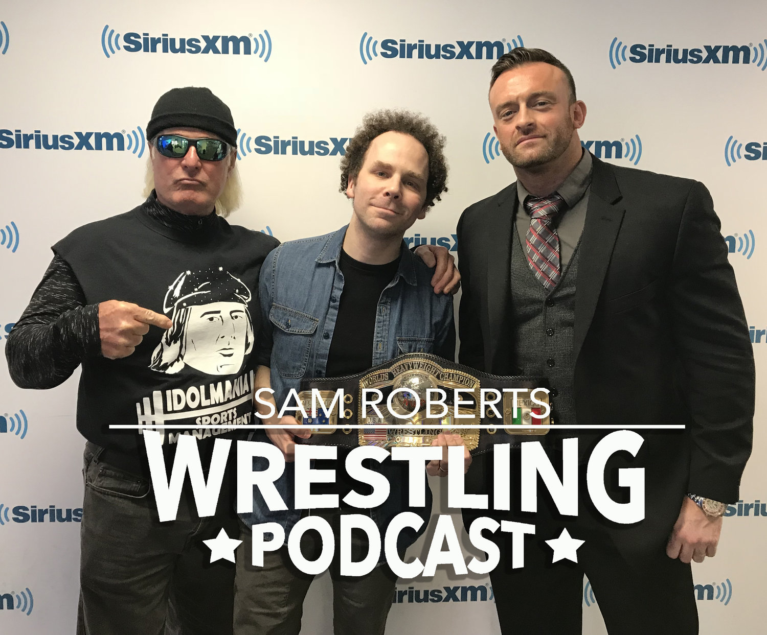 Wrestling Podcast 179 - Nick Aldis & Austin Idol — NotSam com