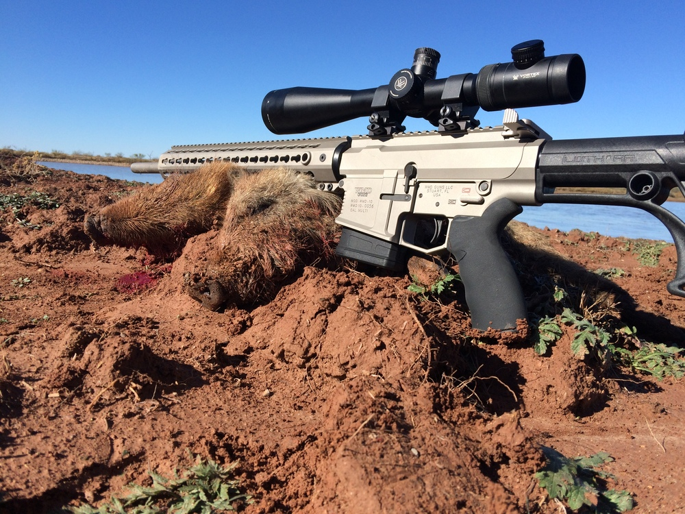 WMD's Big Beast .308 Rifle