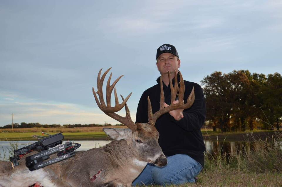 "Final Descent Outdoors staffer Paul Powers arrowed this Oklahoma buck in 2018 scoring 186 4/8"" making it the second largest buck taken on Final Descent Outdoors."