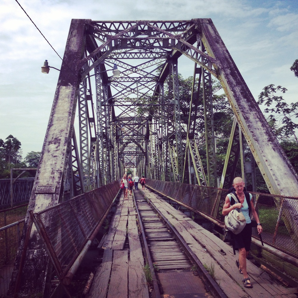 The Panama border