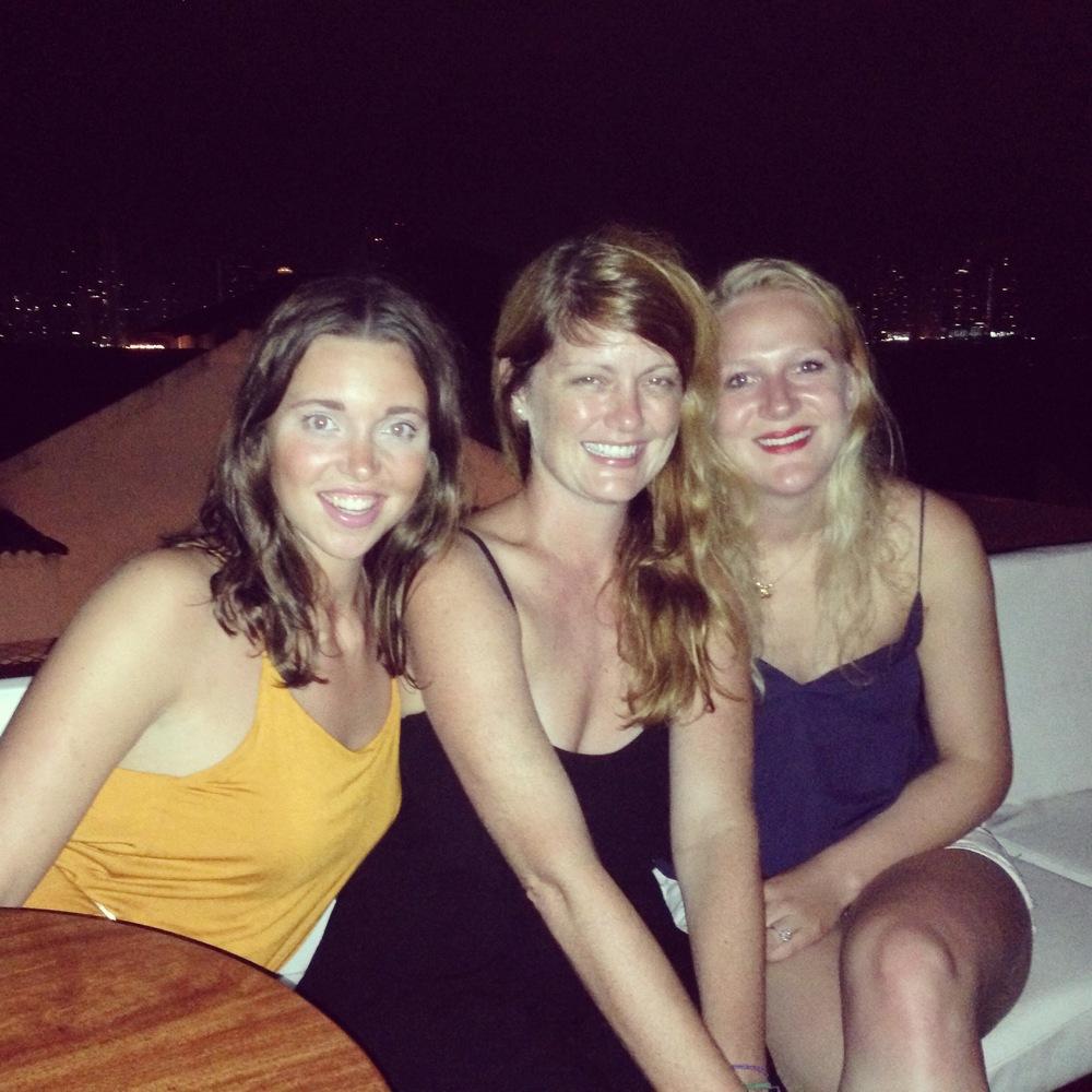 Eva, Linda and I