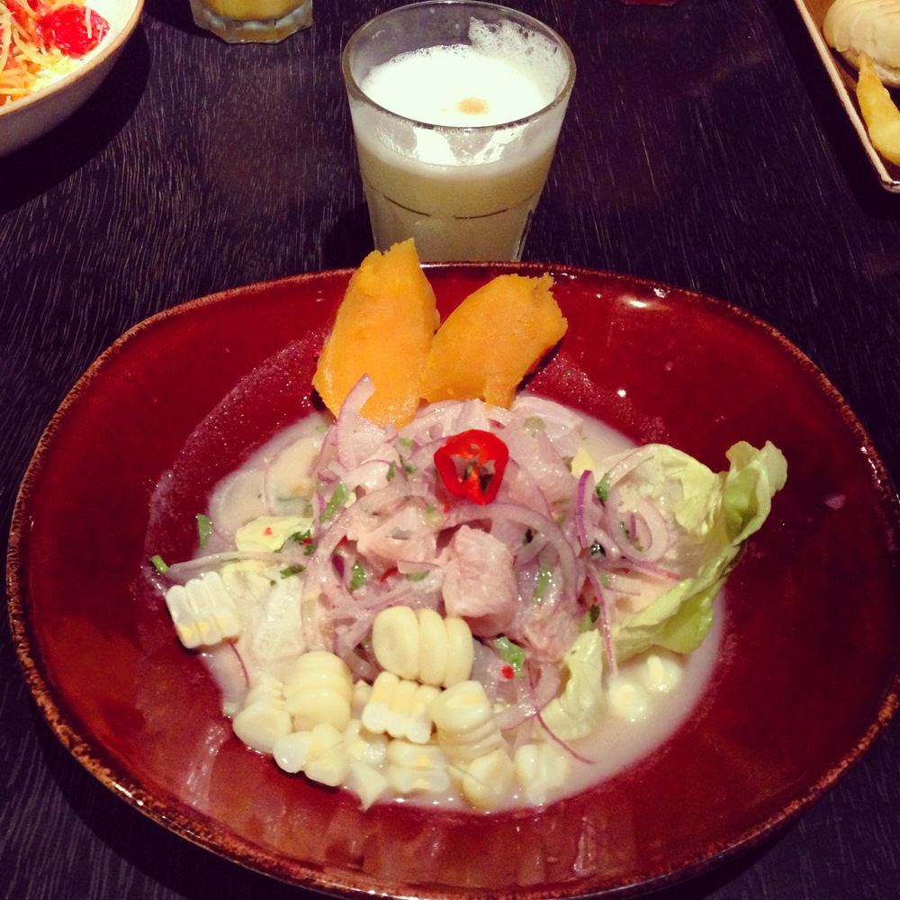 Ceviche: food of the gods