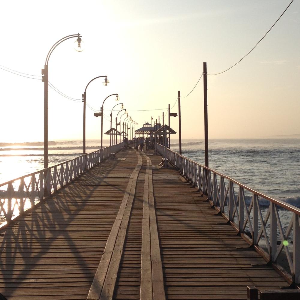 The pier, Huancacha