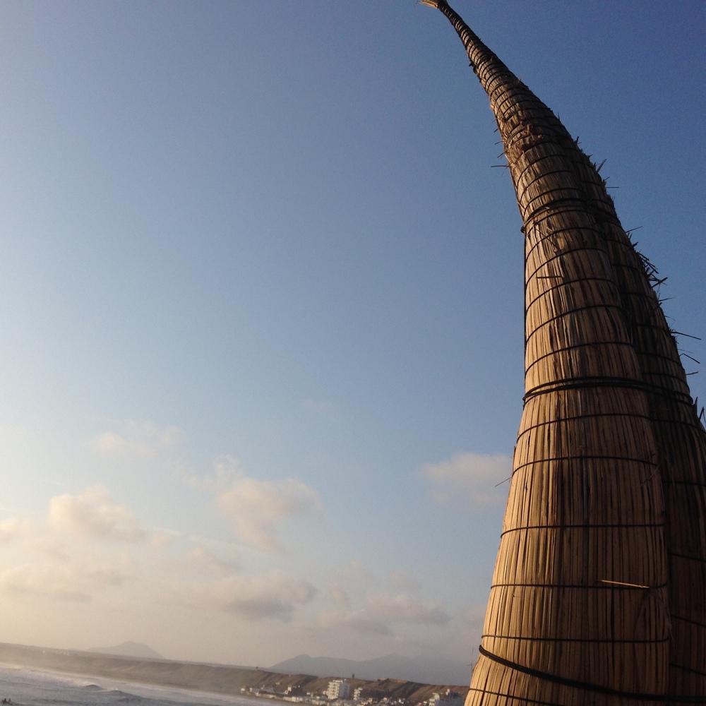 Huanchaco on sundown