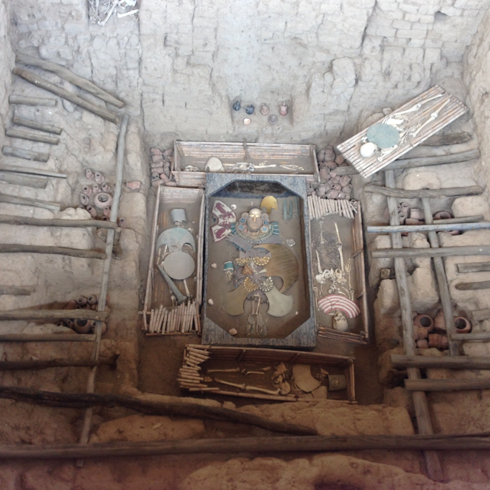 The Lord of Sipan's tomb