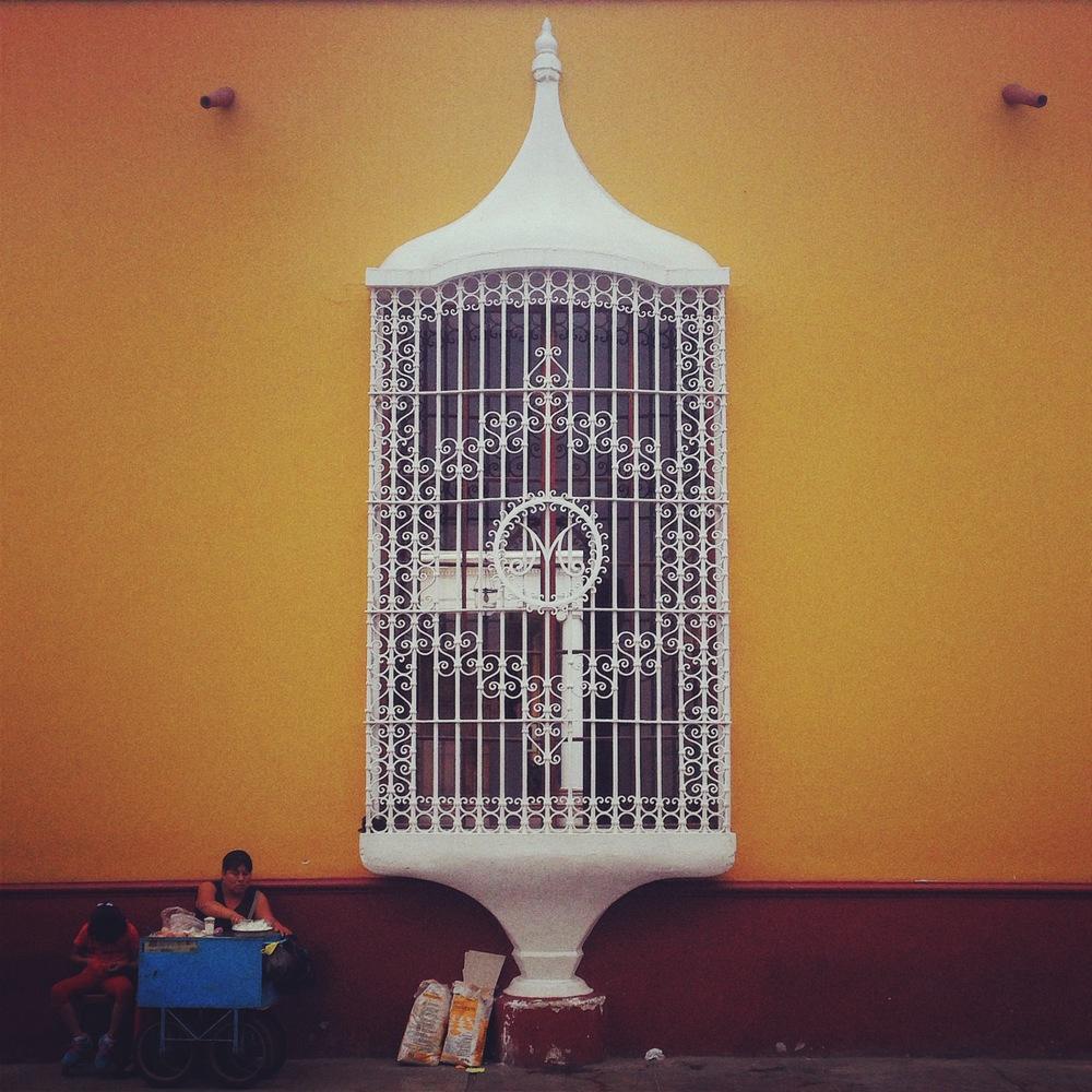 The birdcage windows of Trujillo