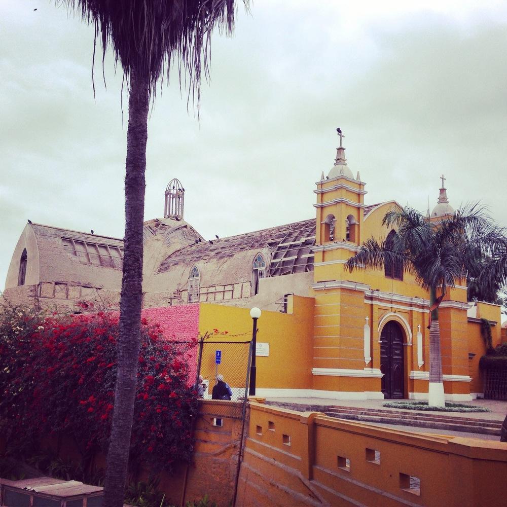Iglesia Santisima Cruz de Barranco