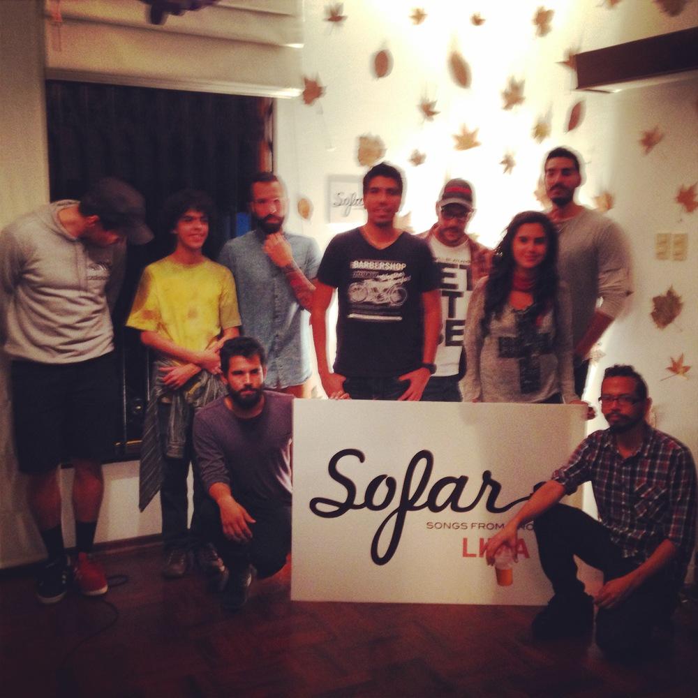 The Sofar Lima team