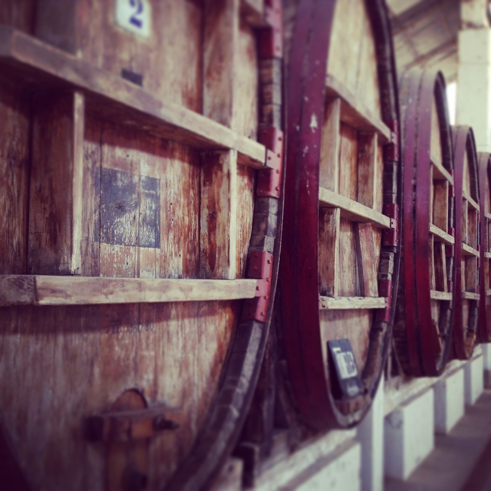 Estonian wine vats